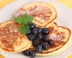 Ricotta Pancakes Recipe – Laura Vitale – Laura in the Kitchen Episode 560