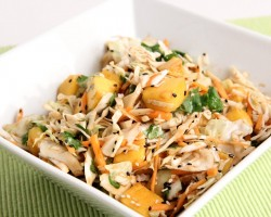 Asian Inspired Mango Slaw Recipe – Laura Vitale – Laura in the Kitchen Episode