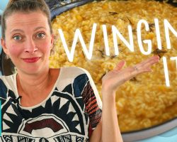Butternut Risotto |  Wingin' It!  |  Hilah Cooking