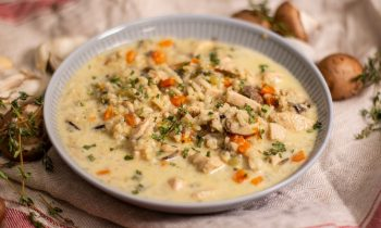 Creamy Chicken & Wild Rice Soup Recipe | Ep. 1333